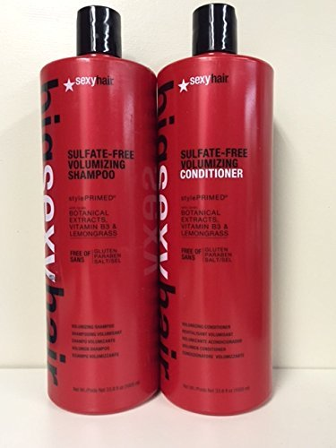 Sexy Hair Big Volume Shampoo and Conditioner Duo Set 33.8oz by Sexy Hair Concepts