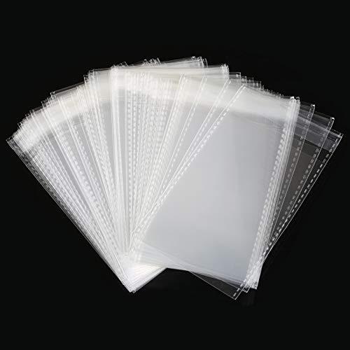 GWHOLE 100 Piezas Bolsas Celofán Transparentes Sellado