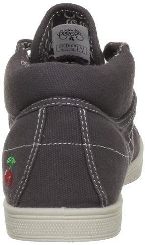 Le Temps des Cerises Basic 03, Sneaker donna grigio (Gris (Charcoal))