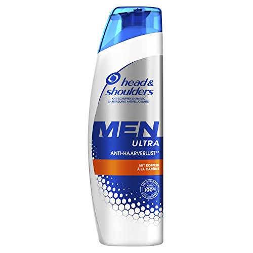 Head & Shoulders Men Ultra Anti-Haarverlust Shampoo, 6er Pack (6 x 260 ml)