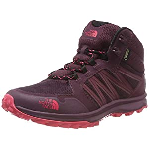 41ORffbMUDL. SS300  - THE NORTH FACE Women's Litewave Fastpack Mid Gore-tex High Rise Hiking Boots