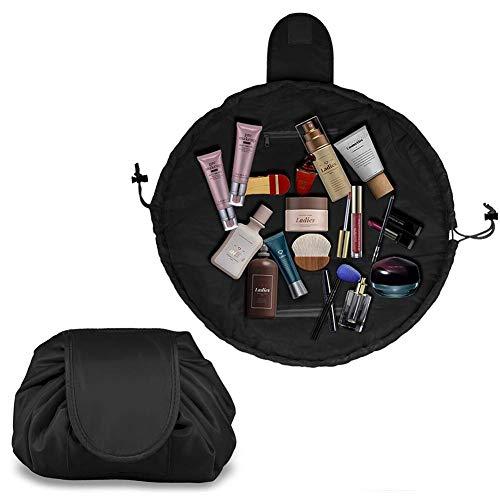 Kosmetiktasche mit Kordelzug, tragbare Reisetasche, große Kapazität, ideal für Reisen, Geschäftsreise