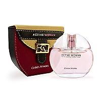 Chris Adams Perfumes Active Woman Pour Femme Eau De Perfume For Women, 80 ml