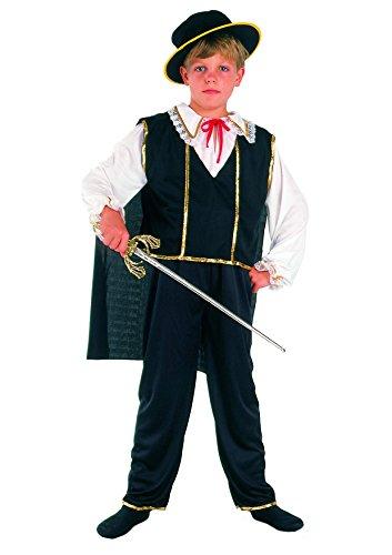 Blumen Paolo-Bandito Kostüm Kind M (5-7 anni) - Bandito Kinder Kostüm