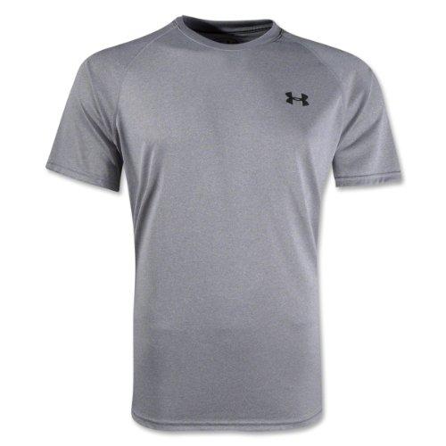 Under Armour Herren Ua Tech Short Sleeve Tee Kurzarmshirt True Grey Heather