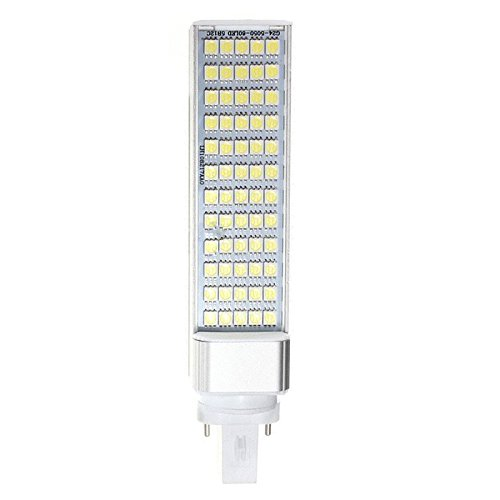TOOGOO(R) G23 12W 5050 SMD Weisse LED Horizontale Stecker Lampe Mais Hause Decke Weisses Licht