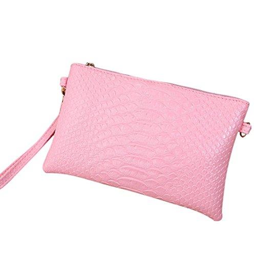 Valet Haken (squarex Fashion Frauen künstliche Schlange Leder Handtasche Messenger Bags Coin Bag Phone Bag)