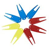 Best GENERIC Golf Tools - 8Pcs Plastic Golf Divot Tool Accessory---Random Color Review