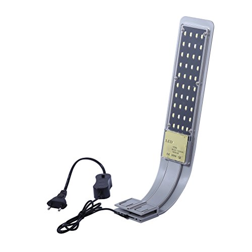 UKCOCO LED Aquarium Licht, Clip-on Aquarium Lampe