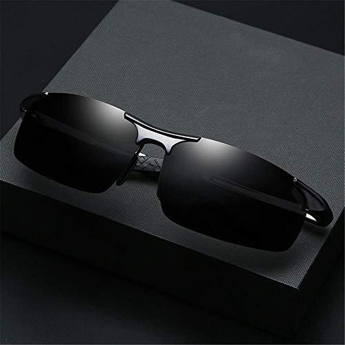 Sport-Sonnenbrille, Aluminium Magnesium Outdoor Sports Ride Anti-UV Rating: UV400 @ 1