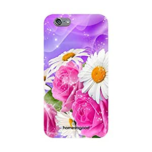 HomeSoGood Gorgeous Floral Beauties Multicolor 3D Mobile Case For iPhone 6S (Back Cover)