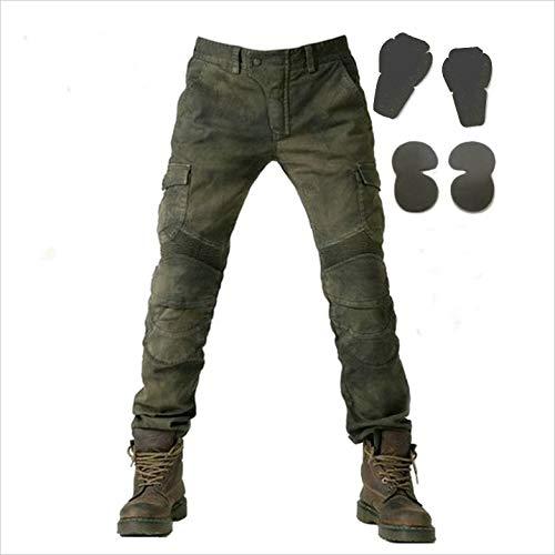 Wildbee motociclo da corsa jeans uomo strada bicicletta i pantaloni armored with pads