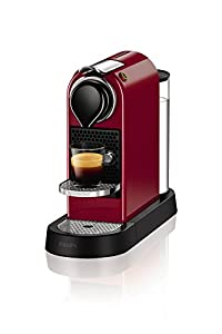 Nespresso by KRUPS XN740540 Nespresso Citiz Coffee Machine - Cherry Red