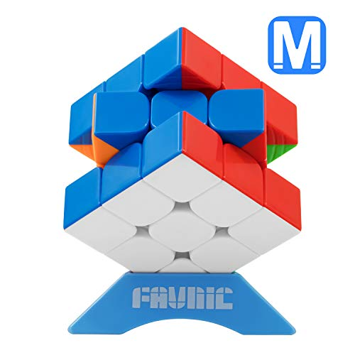 FAVNIC Speed Cube, Magnetic Magic Cube 3X3 Rompecabezas