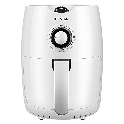 DZSF 220V 1000W 2.5L Multifunktions-Air Fryer, Huhn Oil Free Air Fryer Gesundheit Fryer Pizza Herd Smart Touch LCD Elektrische Tief Airfryer