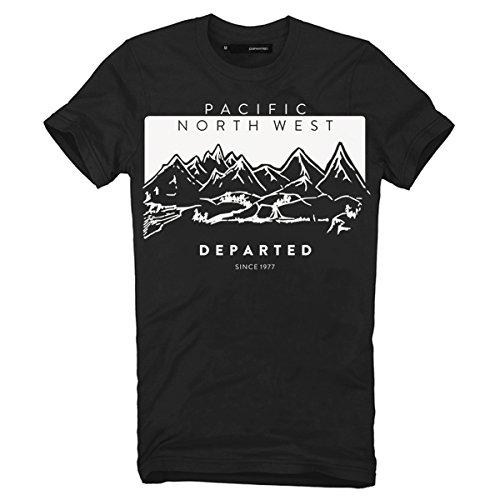"""DEPARTED Fashion Shirt """"3730-010"""" Schwarz"""