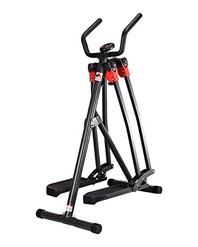 VA FITNESS - Air Walker Cross Trainer - LCD Display - Foldable