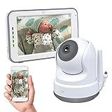 ELRO BC3000 Babyfoon Royale - met 12,7 cm Touchscreen Monitor HD- & App, 1 stuk