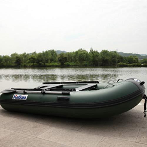 HYYQG Kayak Inflable, Kayak De Pesca En Mar Accesorios De AleacióN De Aluminio Kit De Bomba De Aire Bolsa De Placa Inferior 2 + 1 Persona
