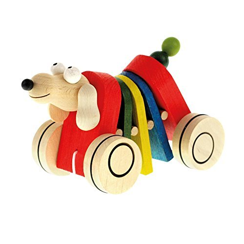 MERTENS Pull along Dog Toy by Mertens (Dog Pull Toy)