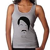Anthony Kiedis Music Icon Silhouette Women's Vest