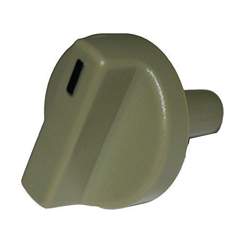 Music City Metals 00120 Kontrollknopf aus Kunststoff für Gasgrills der Marke Weber - Grau