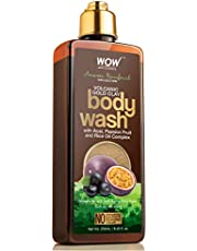 WOW Skin Science - Amazon Rainforest Collection - Volcanic Gold Clay Shower Gel (with Acai, Passion Fruit & Rice Oil Complex) - 300 mL