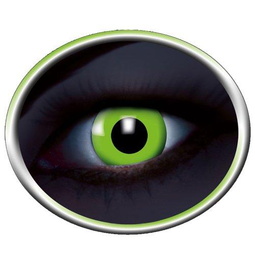 UV flash green Kontaktlinsen