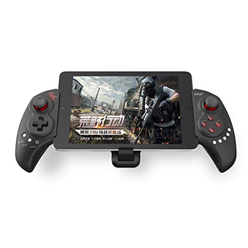 Kabellose Bluetooth-Gamepad Controller Joystick Gamepad für Android Tablet PC Griffe Gamepad Controller Tragbares Gaming Product packaging size: approx 17.6X13.6X6.8cm/6.9 schwarz (Beste Ipad-tastatur)