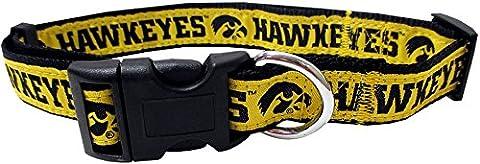 Pets ersten Collegiate Universität von Iowa Hawkeyes Pet Halsband,