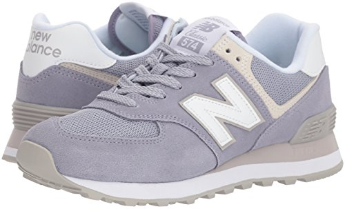 574v2, Sneaker Donna, Bianco (White), 41.5 EU New Balance