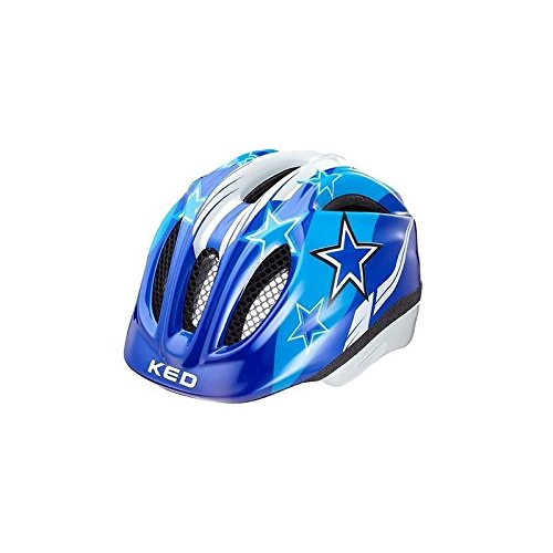 KED Meggy Helmet Kids Blue Stars Kopfumfang 52-58 cm 2017 mountainbike helm downhill