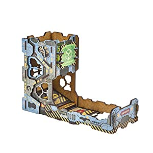 Q WORKSHOP Color Tech Dice Tower for Rolling Dice