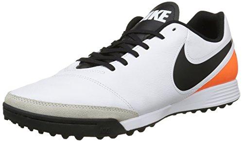 Nike Herren Tiempox Genio Ii Leather Tf Laufschuhe Multicolore (White/Black/Total Orange)