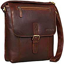 b4c5c1f43b STILORD 'Matthias' Borsa messenger da uomo pelle piccola borsa a tracolla  tablet iPad 10.1