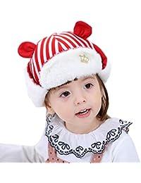 ZAY Bambino Neonato Inverno paraorecchie con Visiera Berretto Caldo Morbido  Peluche Bambini Colbacco per Ragazzi e 2ac3b4e6ed5b