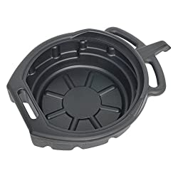 Sealey DRP02 Oil/Fluid Drain Pan 7.6ltr, Black