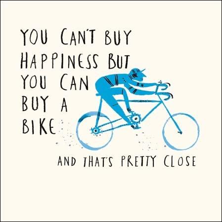 Buy A Bike Livin' It Birthday Greeting Card Contemporary Range Cards