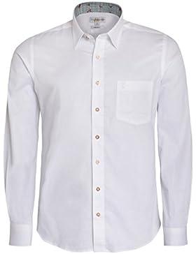 Trachtenhemd Regular Fit zweifar
