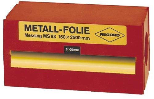 FORMAT 7644980050 - DE LñMINA DE METAL DE ACERO INOXIDABLE  150 X 2500 X 0 050 MM RECORD