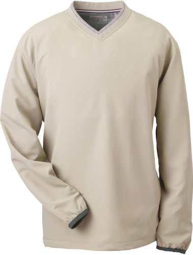 Ashworth Vent T-shirt à col en V pour femme Stone