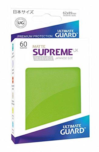 ultimate-guard-ugd010591-supreme-ux-sleeves-giapponese-dimensioni-matt-verde-chiaro