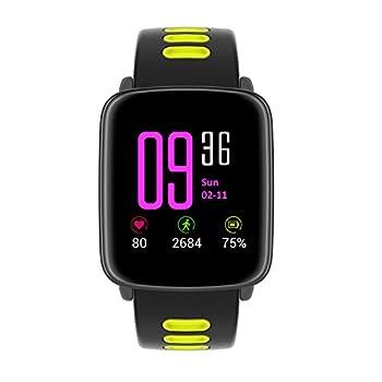 Yamay Smartwatch Bluetooth Smart Watch Uhr Mit Pulsmesser Armbanduhr Wasserdicht Ip68 Fitness Tracker Armband Sport Uhr Fitnessuhr Mit Schrittzähler,schlaf-monitor,setz-alarm,stoppuhr,sms-, Anruf-benachrichtigung Pushkamera-fernsteuerung Musik Für Android Und Ios Telefon 1