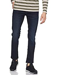 Amazon Brand - Inkast Denim Co. Men's Relaxed Jeans (INK-SS-173_Dark Blue 3_36)