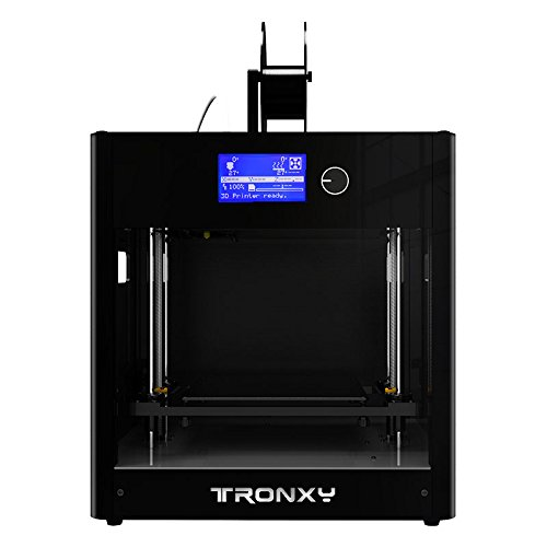 Stampante 3D, Alta Precisione 3D Printer Assemblata Kit 3D, Supporta FDM multi-filamento professionali, Dimensione di stampa: 210 * 210 * 210mm (Nero)