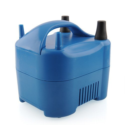 Preisvergleich Produktbild TOOGOO(R) Elektro Ballon Inflator, Ballonpumpe, Luftpumpe 680W, hohe Leistung blau