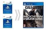 PSN Card para Call of Duty - Modern Warfare   Código de descarga PSN - Cuenta española - Digital Standard Edition