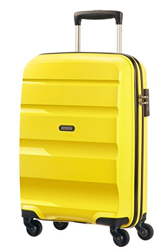 American Tourister Bon Air Spinner S Strict Equipaje de Mano, 31.5 Litros, Color Amarillo