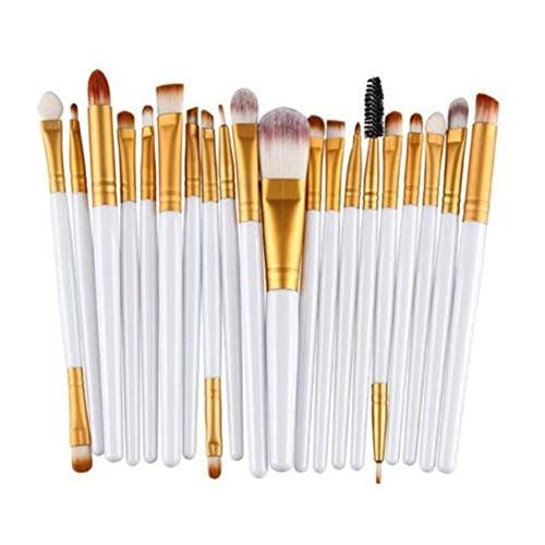 ODN Maquillage pinceau cosmétique contour visage nez poudre fond plat outil