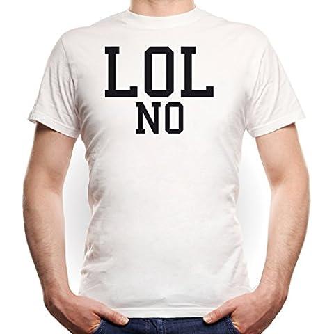 LOL No T-Shirt Blanco